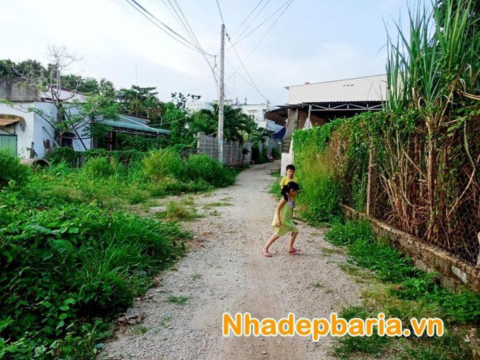 Đất hẻm 470 Điện Biên Phủ - Hòa Long - Bà Rịa