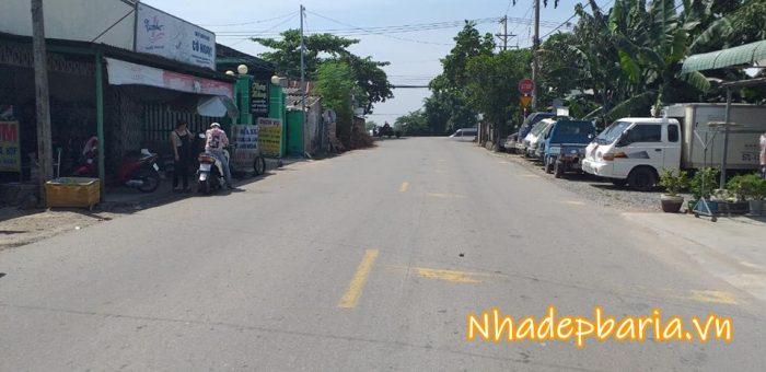 Đất mặt tiền đường nguyễn an ninh phường long hương thành phố bà rịa 1700 m2