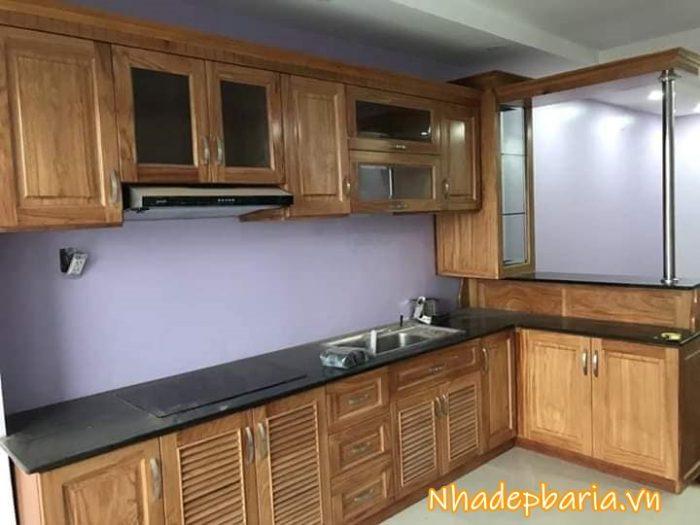 Nhận thiết kế tủ bếp tại bà rịa và khu vực lân cận giá rẻ