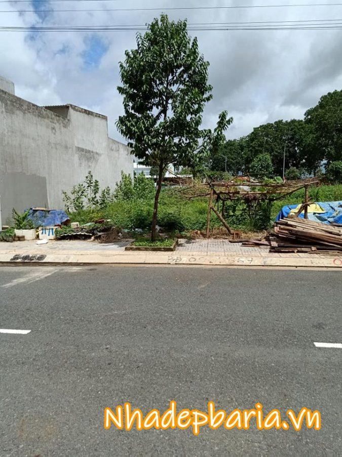 Đất mặt tiền khu tái định cư đường nguyễn thị hoa phường long toàn thành phố bà rịa