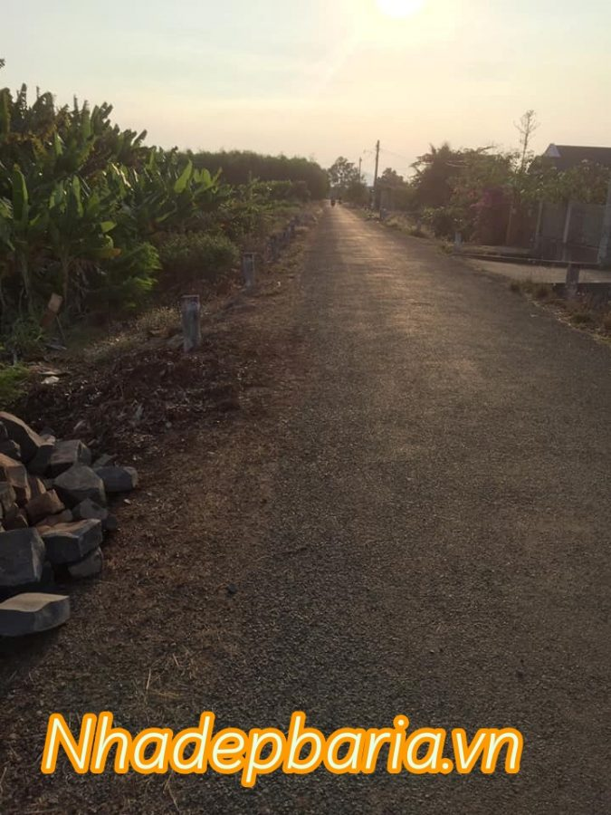 Đất đường 19 xã nghĩa thành châu đức gần khu công nghiệp